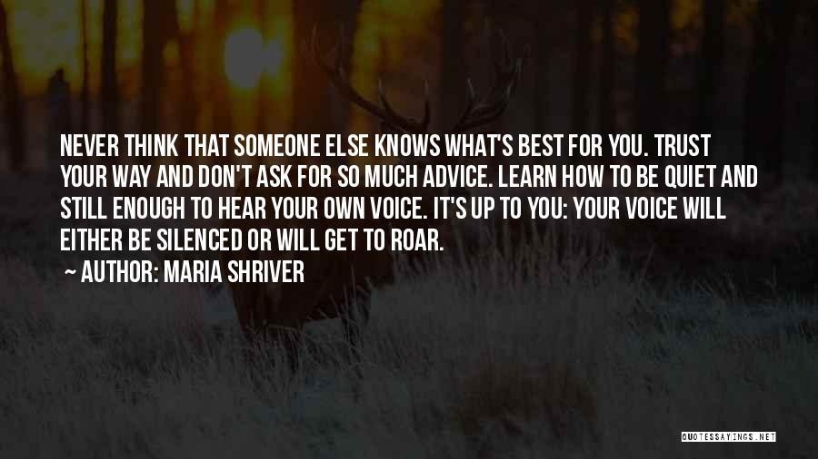 Maria Shriver Quotes 1192692