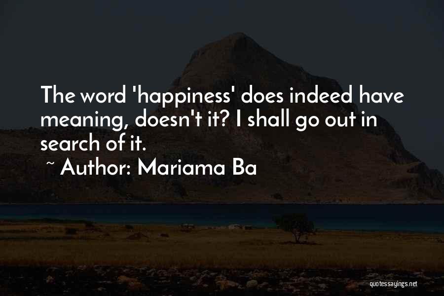 Mariama Ba Quotes 1954159