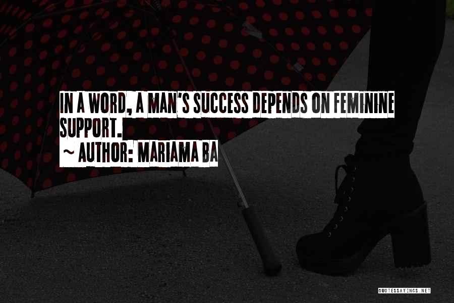 Mariama Ba Quotes 762355