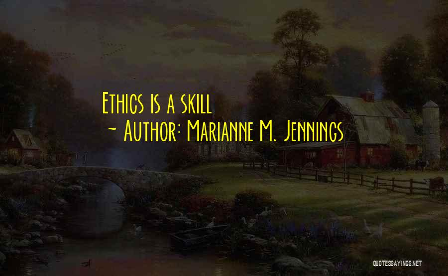 Marianne M. Jennings Quotes 1978900