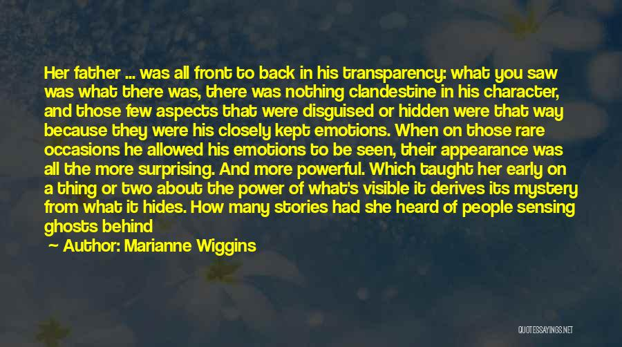 Marianne Wiggins Quotes 1952195