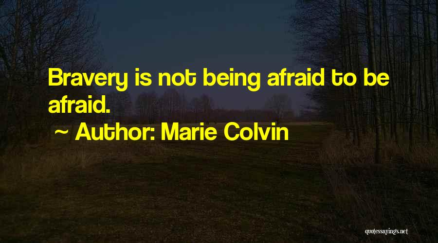 Marie Colvin Quotes 1176682