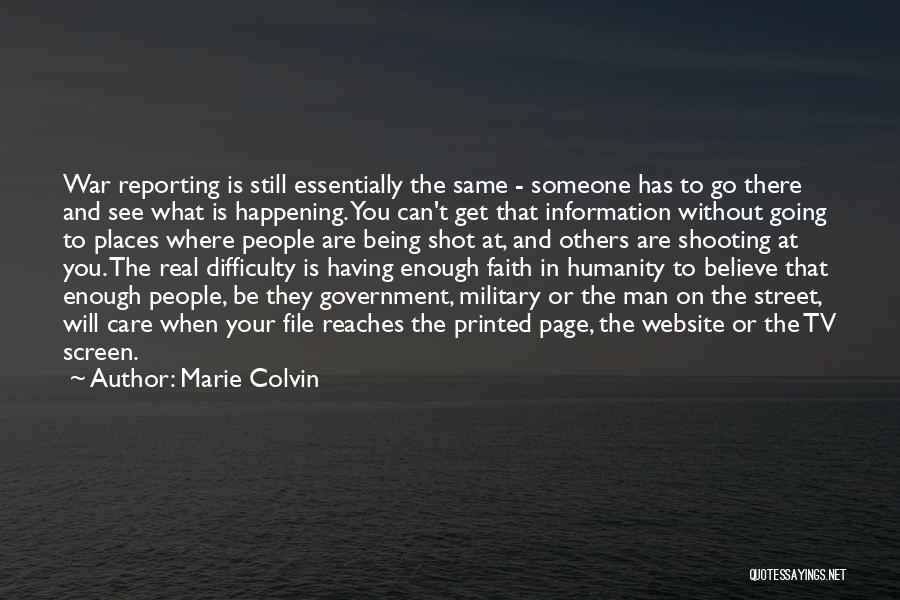 Marie Colvin Quotes 1349643