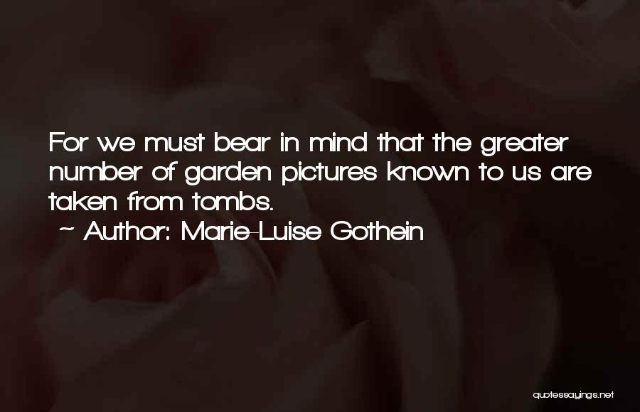 Marie-Luise Gothein Quotes 1837071