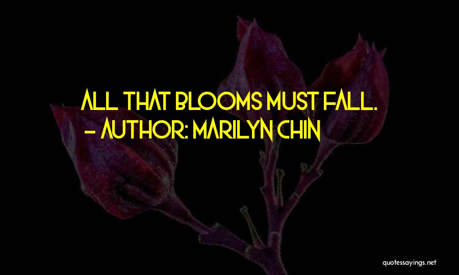 Marilyn Chin Quotes 307225
