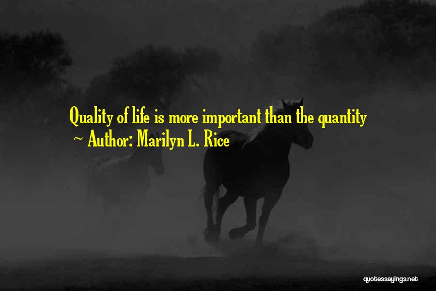 Marilyn L. Rice Quotes 156338