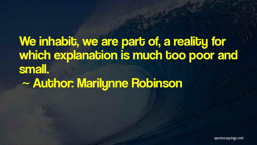 Marilyn Monroe Pearls Quotes By Marilynne Robinson