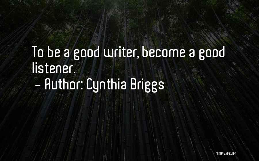 Marine Life Quotes By Cynthia Briggs