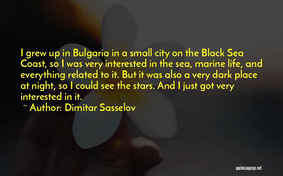 Marine Life Quotes By Dimitar Sasselov