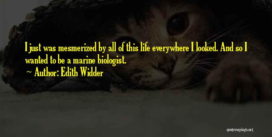Marine Life Quotes By Edith Widder