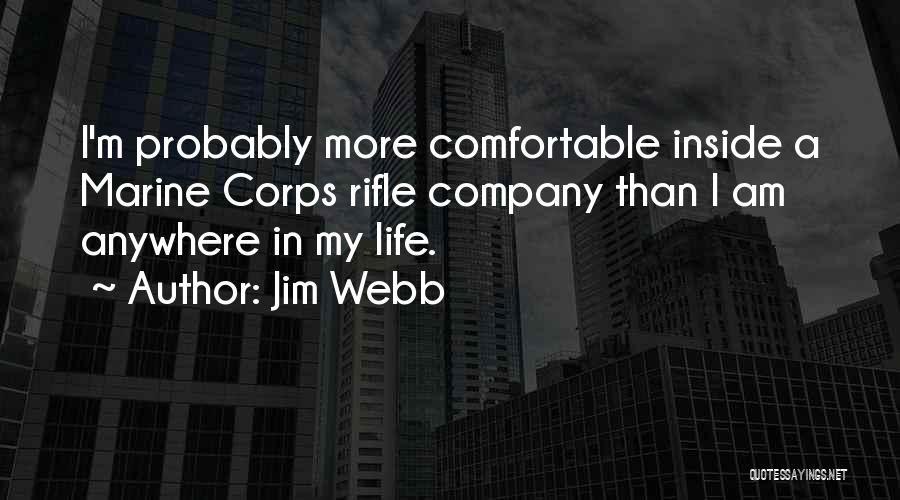 Marine Life Quotes By Jim Webb