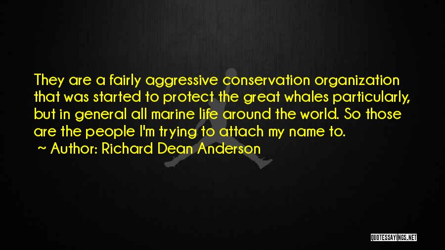 Marine Life Quotes By Richard Dean Anderson