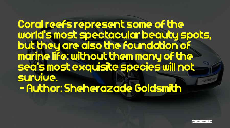 Marine Life Quotes By Sheherazade Goldsmith