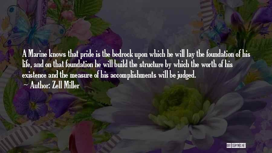 Marine Life Quotes By Zell Miller