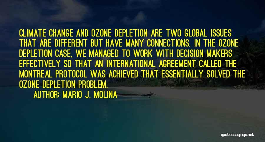 Mario J. Molina Quotes 936707