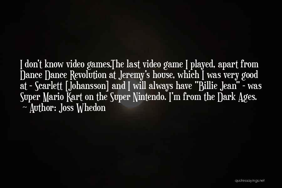 Mario Kart 8 Quotes By Joss Whedon