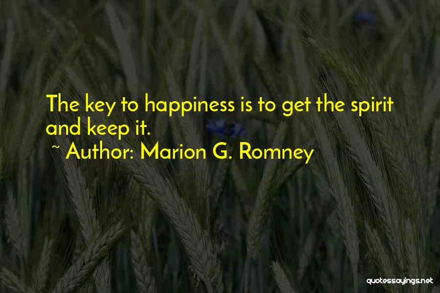 Marion G. Romney Quotes 1303803