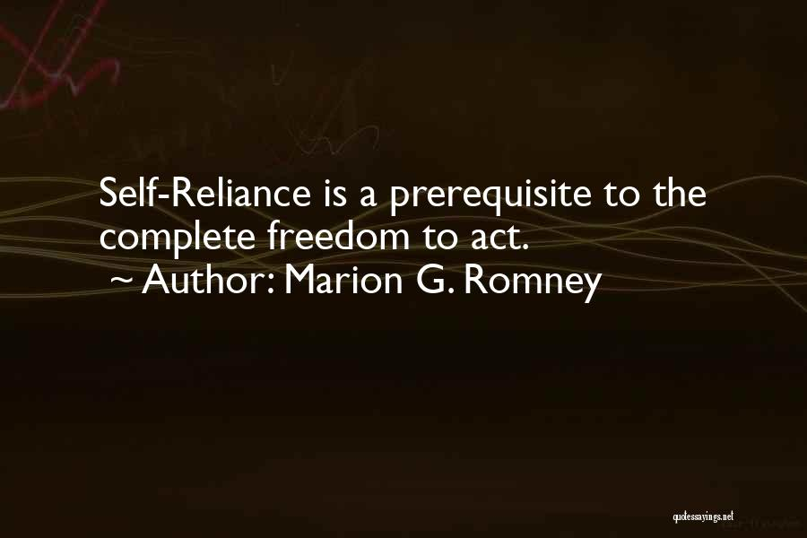 Marion G. Romney Quotes 1384076