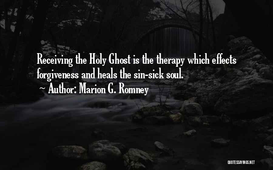 Marion G. Romney Quotes 1969386