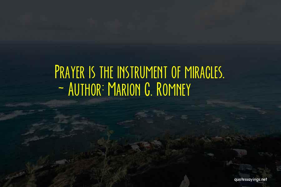 Marion G. Romney Quotes 2032389