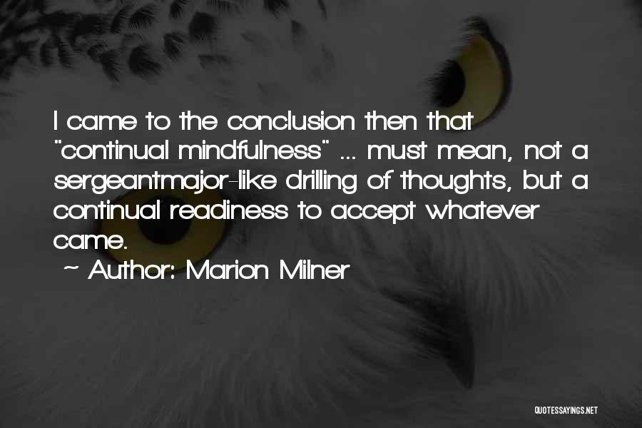 Marion Milner Quotes 1070290