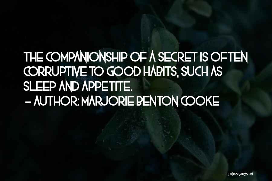 Marjorie Benton Cooke Quotes 1315538