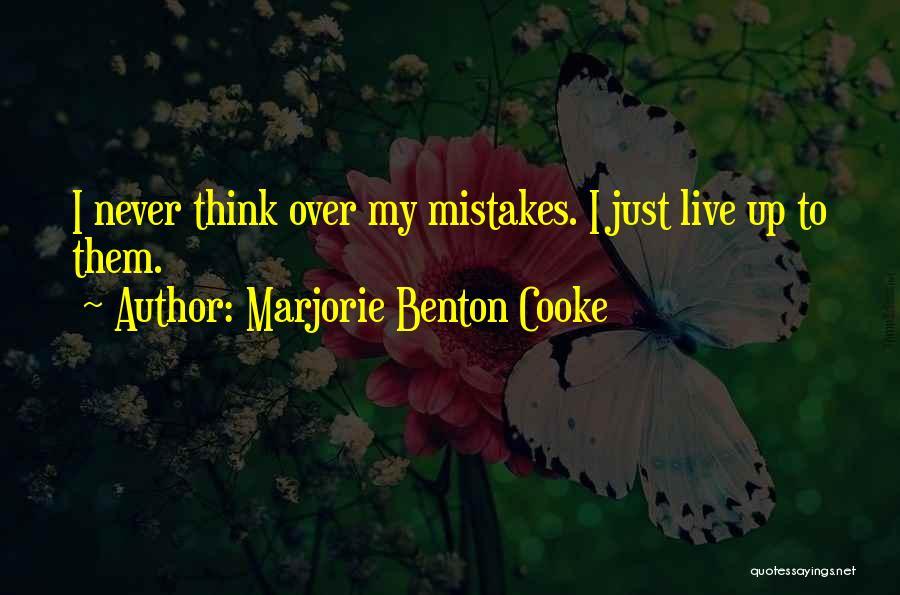 Marjorie Benton Cooke Quotes 226961