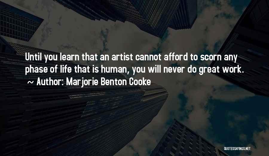 Marjorie Benton Cooke Quotes 412204