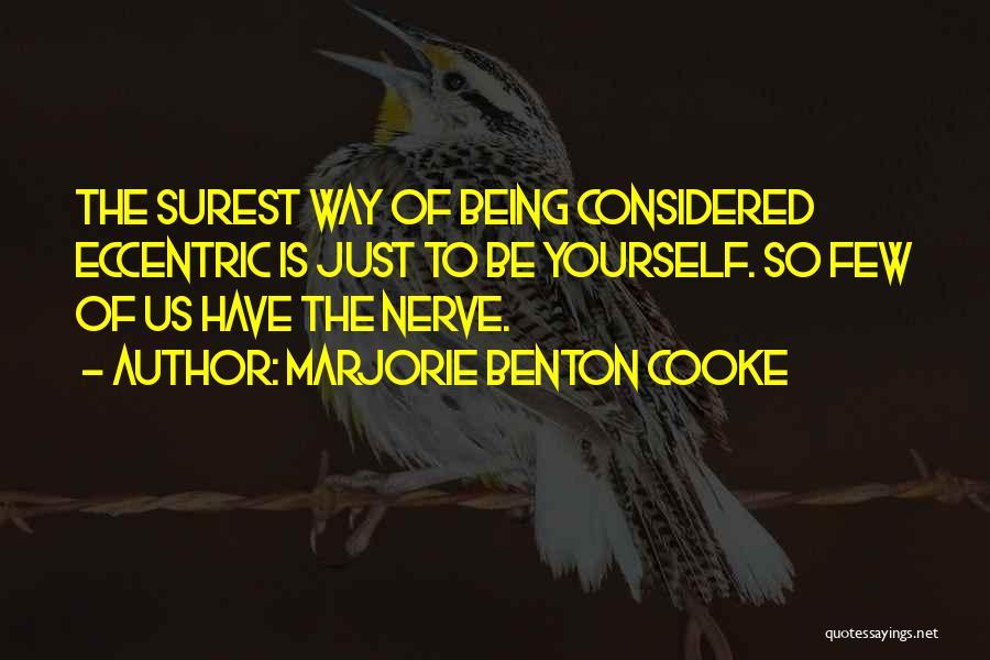 Marjorie Benton Cooke Quotes 660159