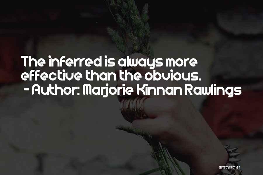 Marjorie Kinnan Rawlings Quotes 1583282
