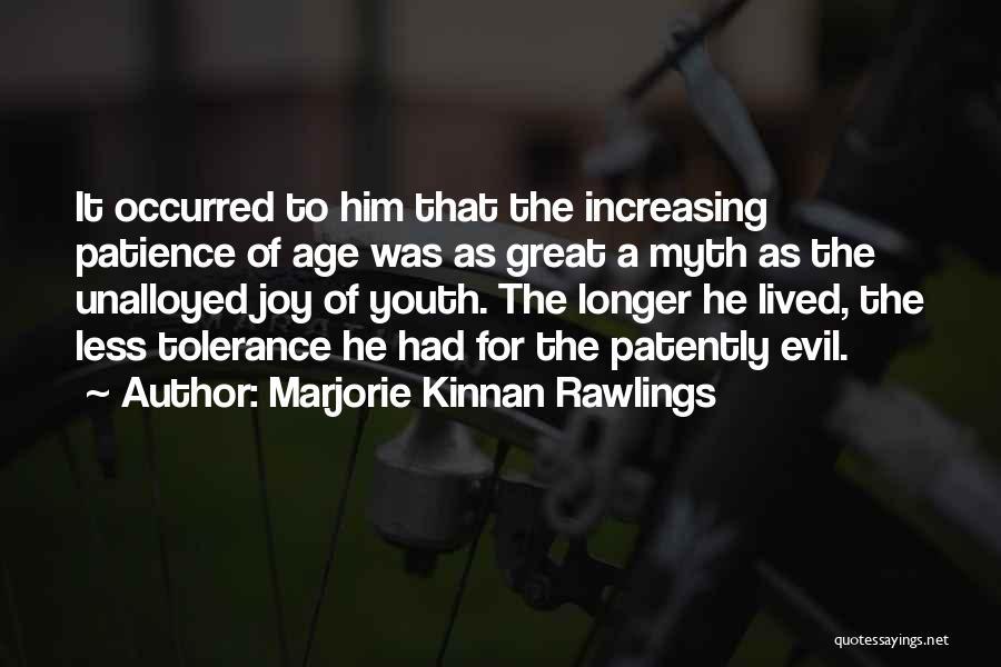 Marjorie Kinnan Rawlings Quotes 1627480