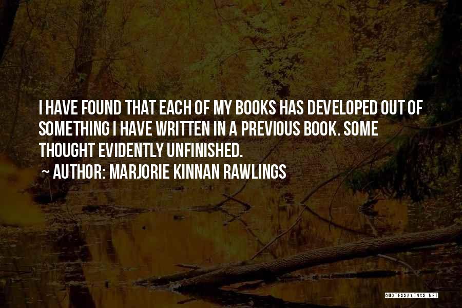 Marjorie Kinnan Rawlings Quotes 2182546
