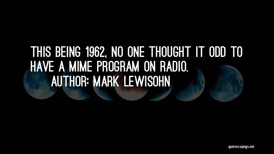 Mark Lewisohn Quotes 119825