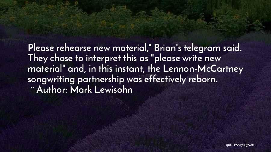 Mark Lewisohn Quotes 1326355