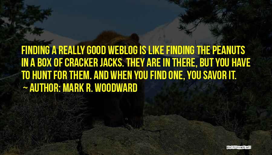 Mark R. Woodward Quotes 974417