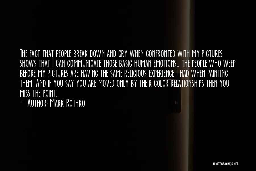 Mark Rothko Quotes 1203330