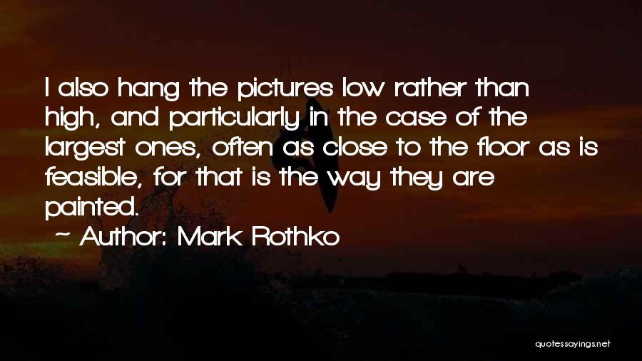 Mark Rothko Quotes 214330