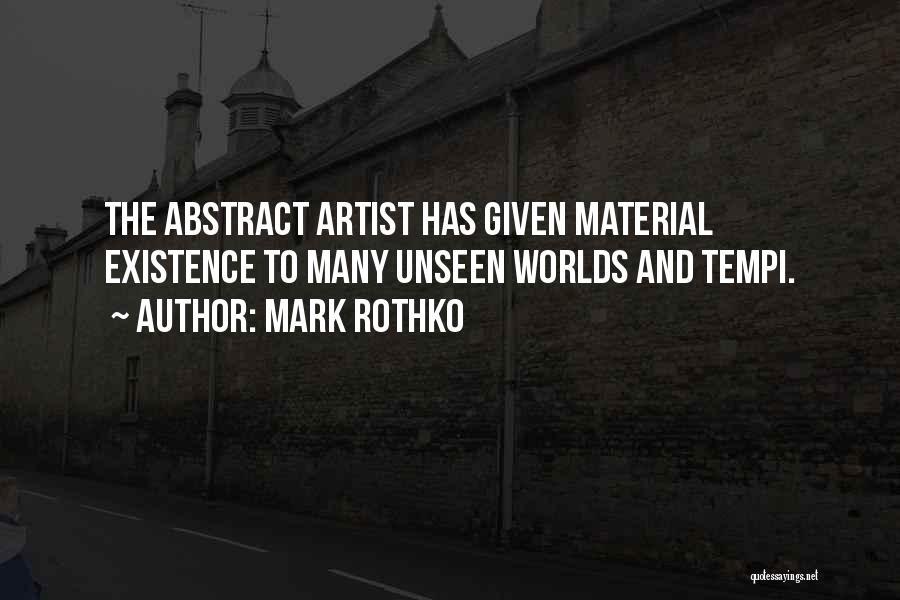 Mark Rothko Quotes 359504