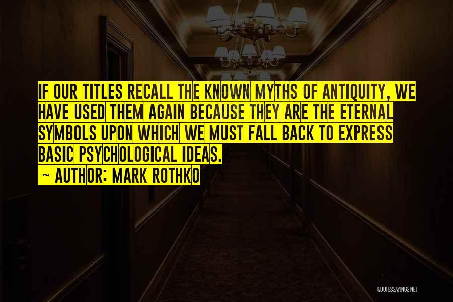Mark Rothko Quotes 657445