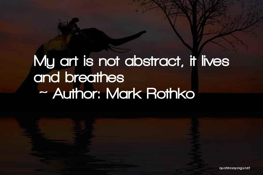 Mark Rothko Quotes 877838