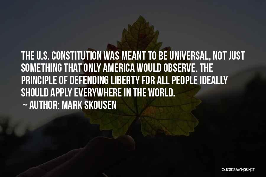 Mark Skousen Quotes 1165169