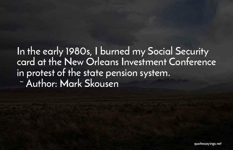 Mark Skousen Quotes 1362015