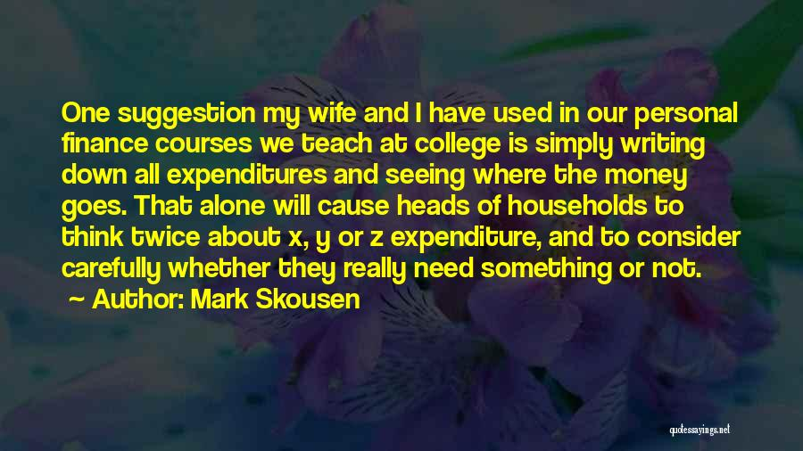 Mark Skousen Quotes 2151684