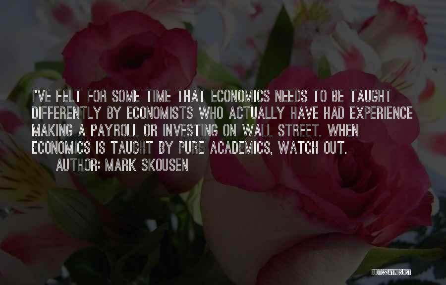 Mark Skousen Quotes 523039