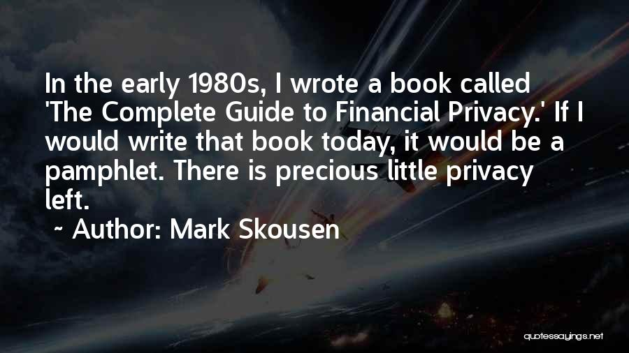 Mark Skousen Quotes 77643