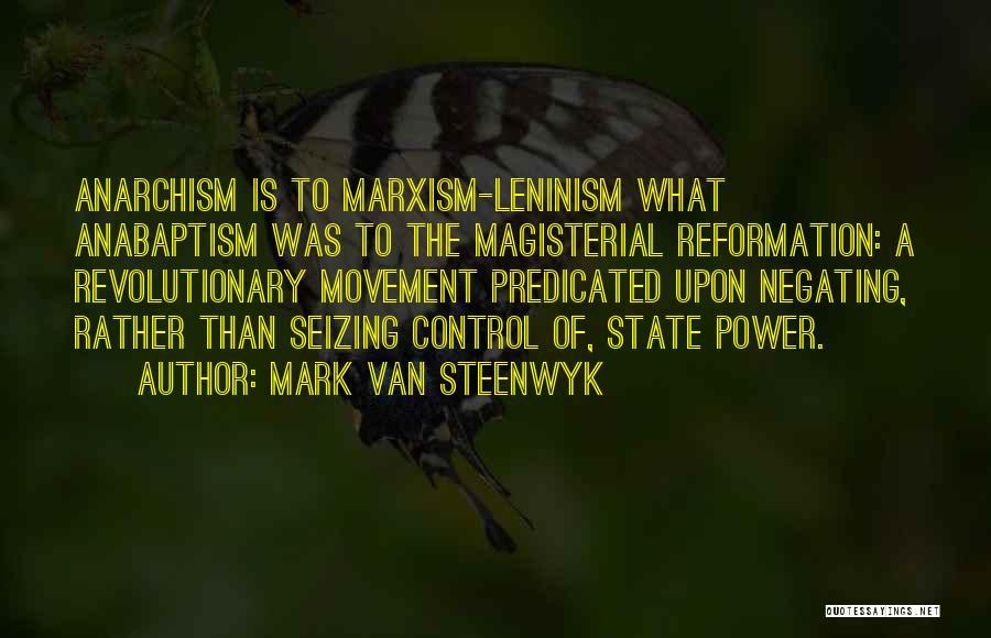 Mark Van Steenwyk Quotes 632447