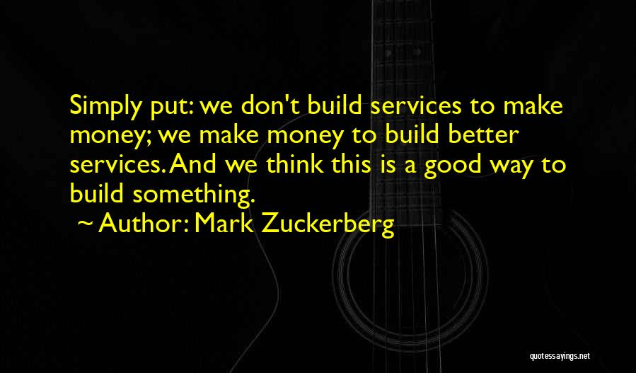 Mark Zuckerberg Quotes 1108947