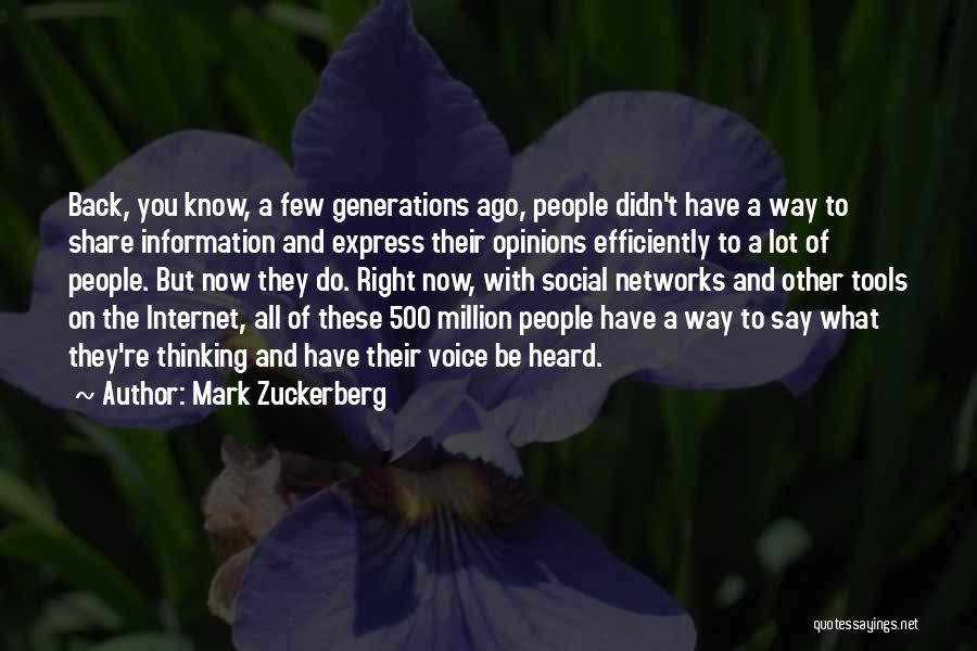 Mark Zuckerberg Quotes 1921470