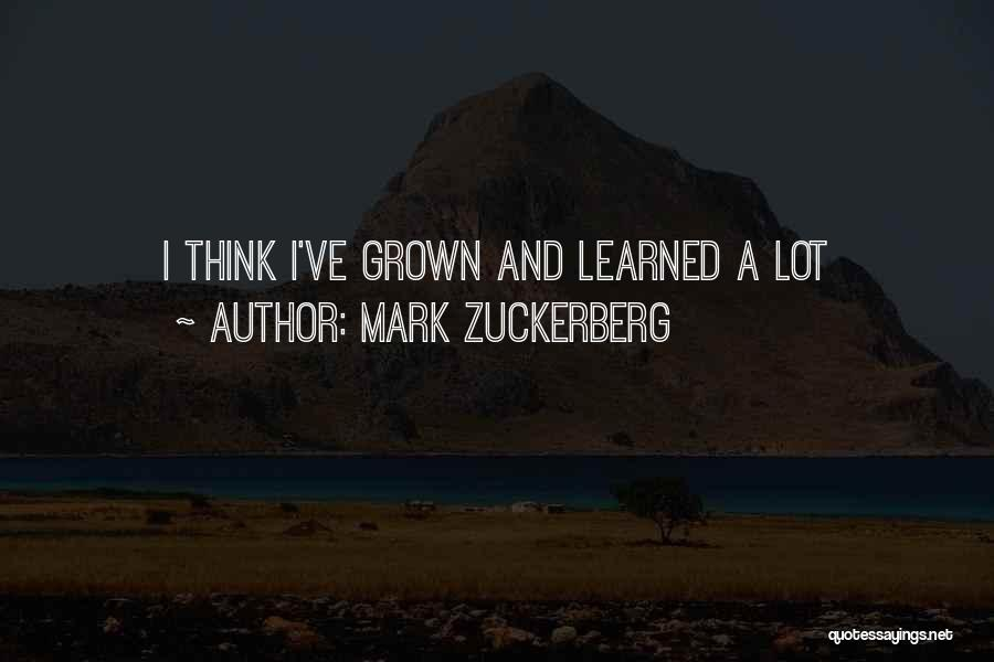 Mark Zuckerberg Quotes 2217820