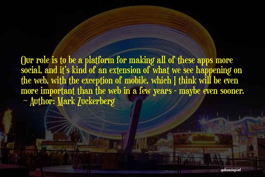 Mark Zuckerberg Quotes 750657